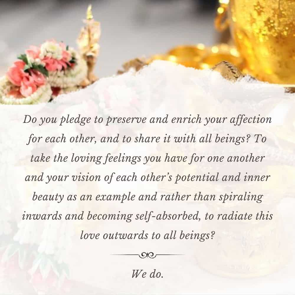 Traditional Wedding Vows To Pledge Your Eternal Commitment