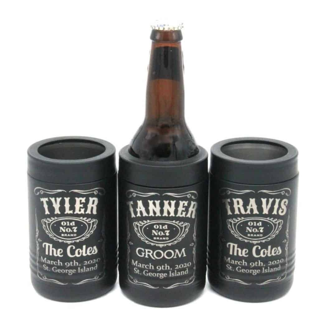 Can Coolers - groomsmen gift ideas