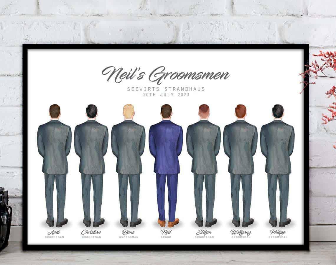 Groomsmen Print