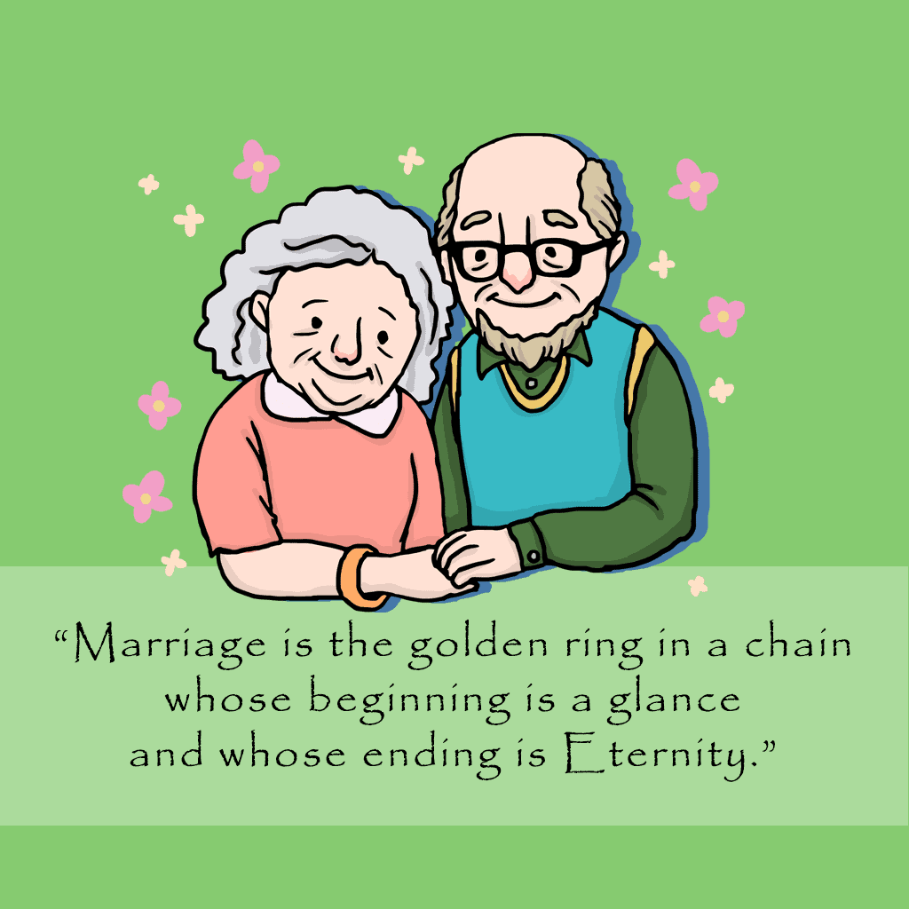 Happy Anniversary Quotes for old couples