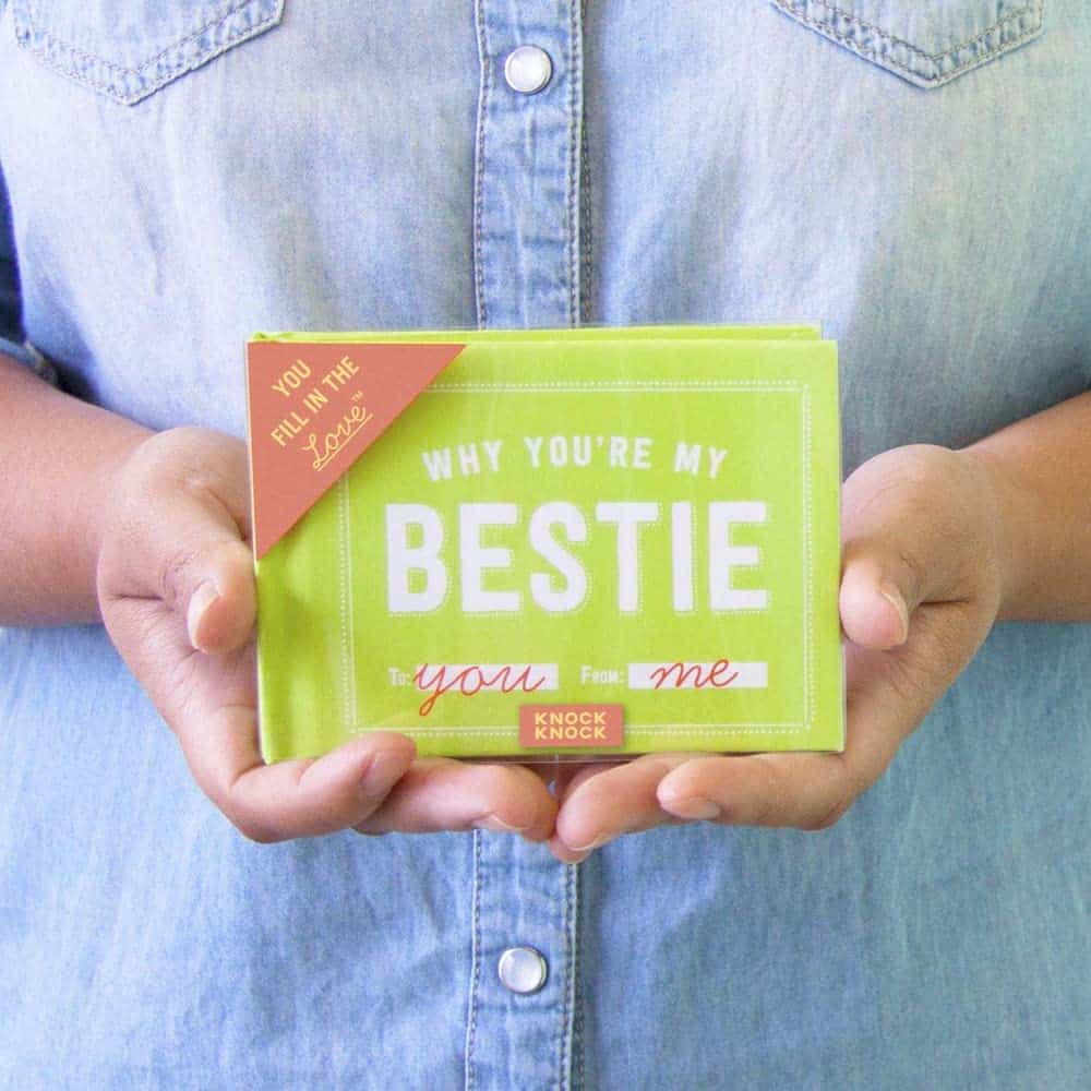 Why You're My Bestie Fill-in-the-Blank Gift Journal For A Long Distance Friend