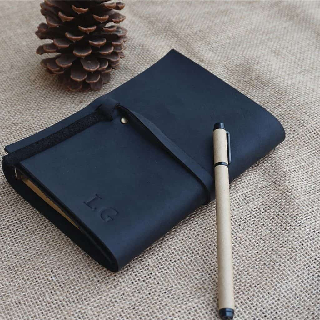 Leather Journal - groomsmen gift ideas