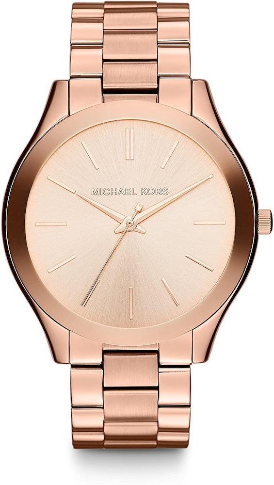 Michael Kors Slim Runway Three-Hand Watch For Woman