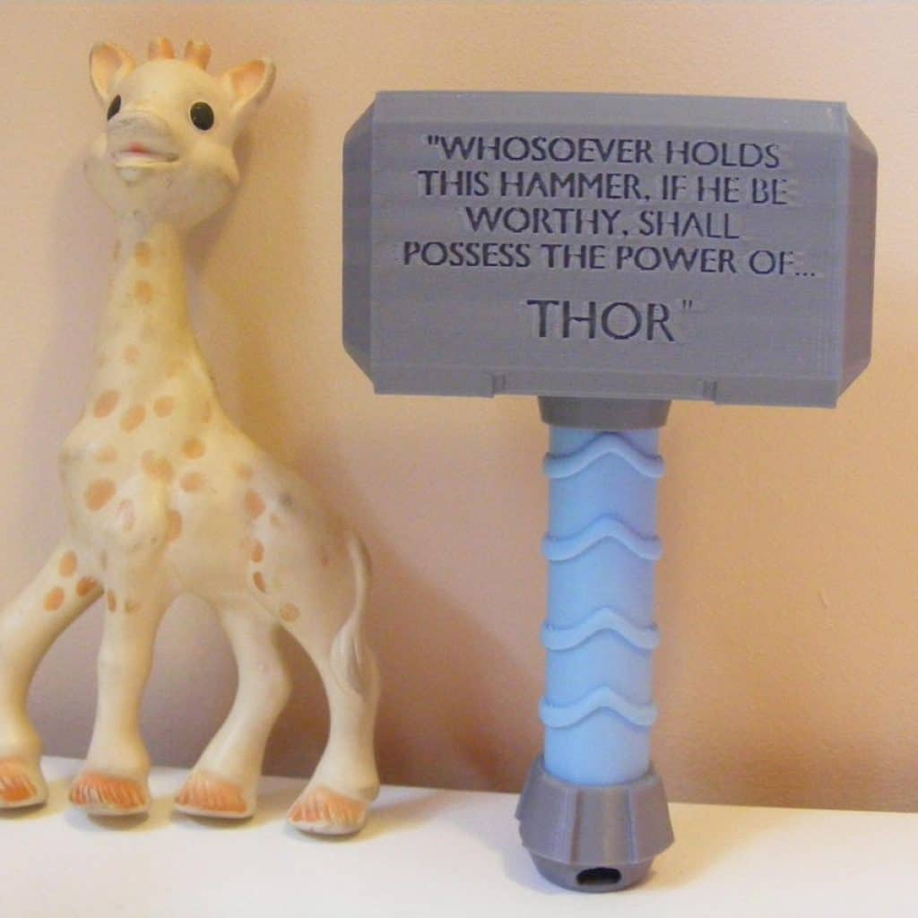 Thor Baby Rattle Toy