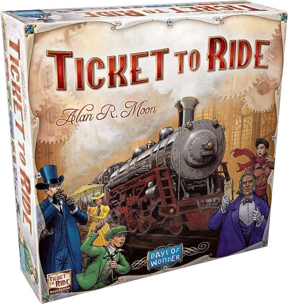 Ticket To Ride Game For Brother