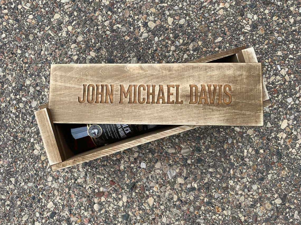 Whiskey Box - best groomsmen gift ideas