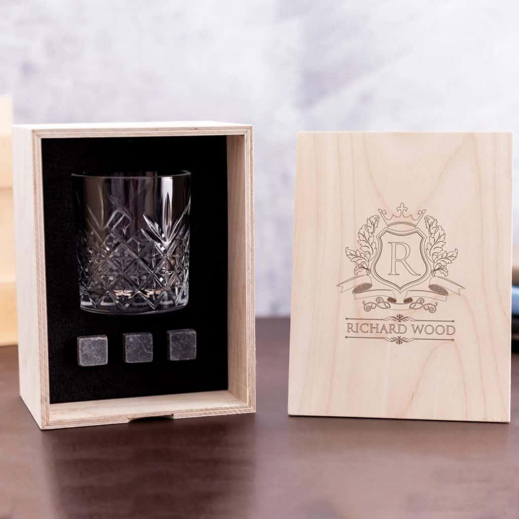 Whiskey Glass Set - groomsmen gift ideas