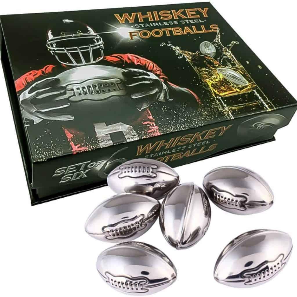 Whisky Stones Footballs Set
