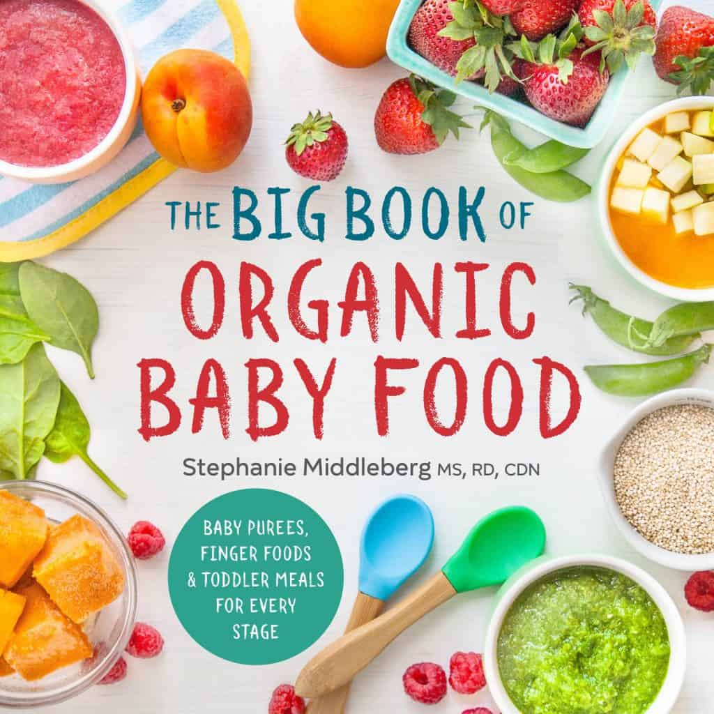 The Big Book of Organic Baby Food cookbook
