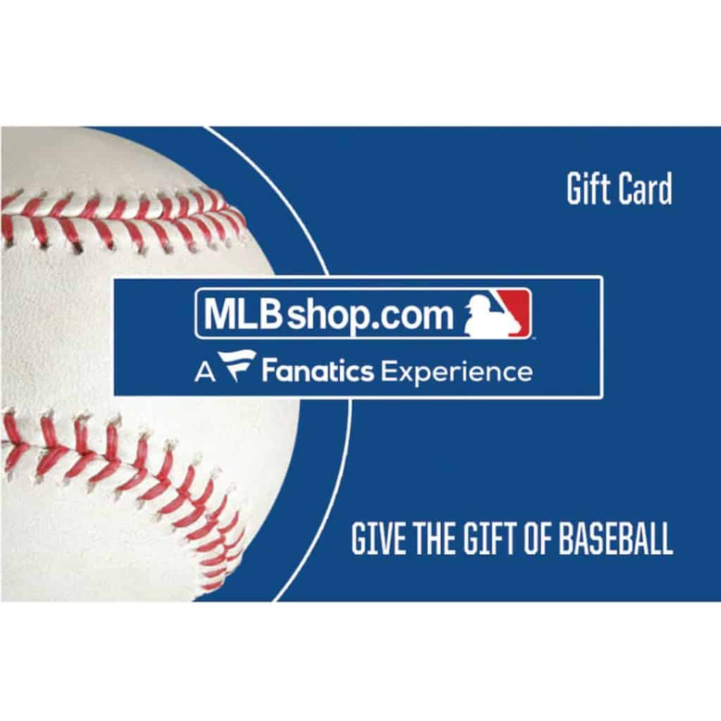 baseball gift card