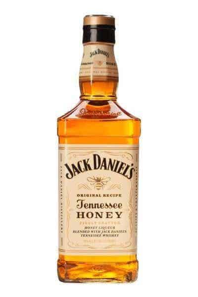 a bottle of Jack Daniel's Tennessee Honey