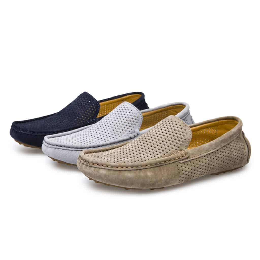 Men Loafers with 3 different colors