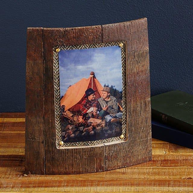 scotch gift idea: scottish whisky photo frame