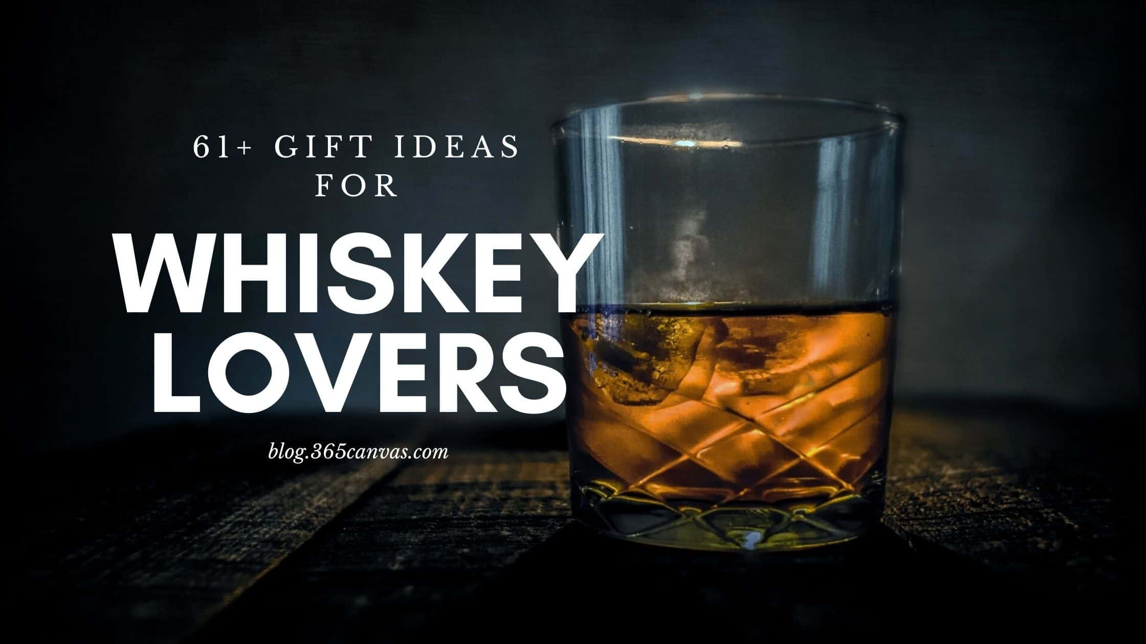 whiskey gifts - blog banner