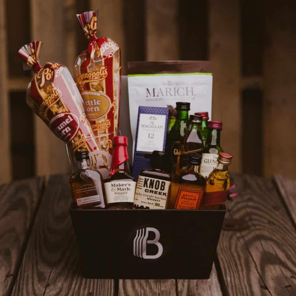whiskey sampler gift set for whiskey enthusiasts