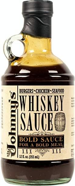 gift for whiskey lover: whiskey sauce