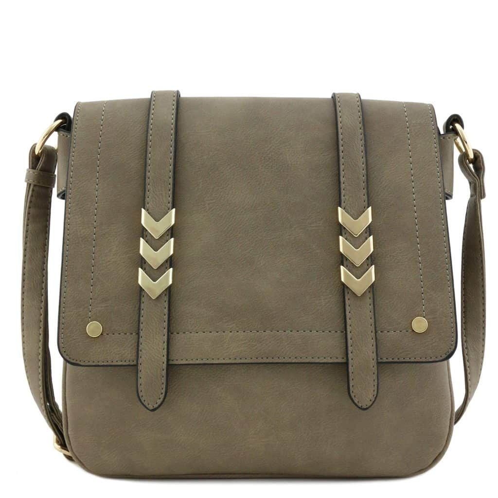 gifts for female friends: Flapover Crossbody Bag
