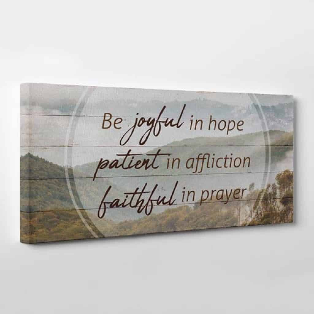canvas print - Christian gifts for women