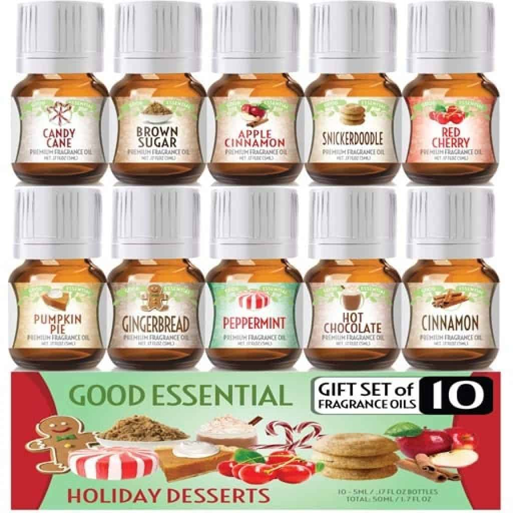Fragrance Oil Set - Christmas gifts for grandma