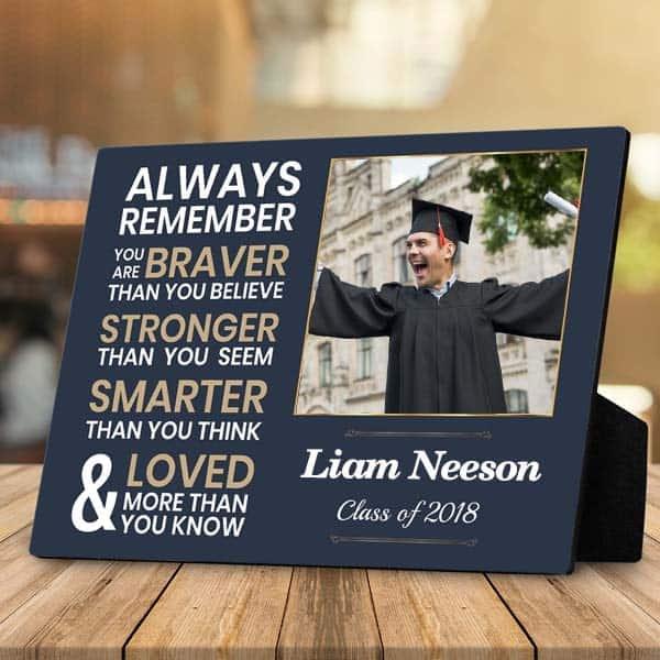 Graduation Photo Plaque