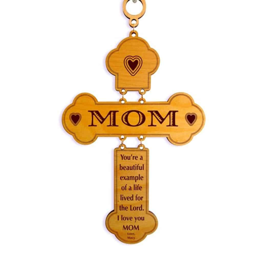 personalized cross - Christian gifts for women