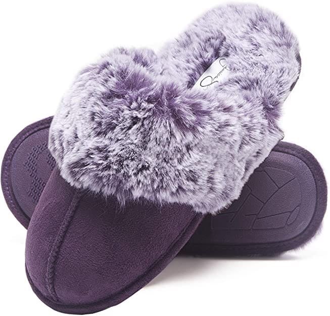 Women's Comfy Faux Fur House Slipper
