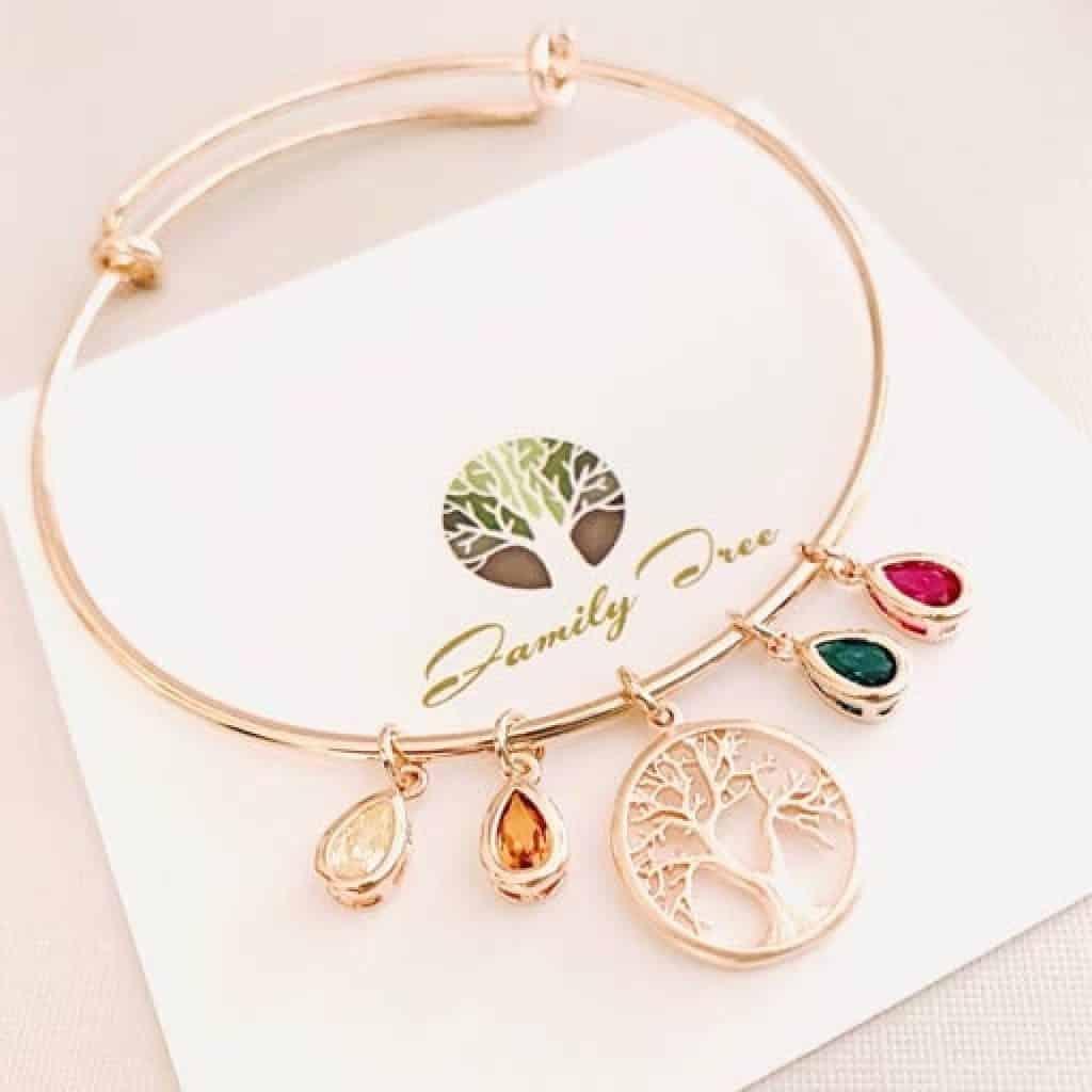Family tree Bracelet - christmas gifts for grandma