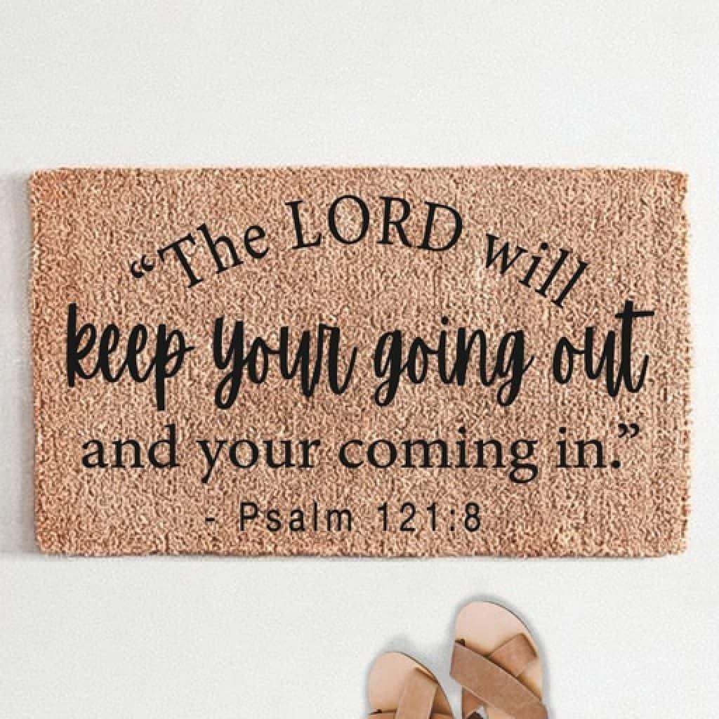 doormat - Christian gifts for women