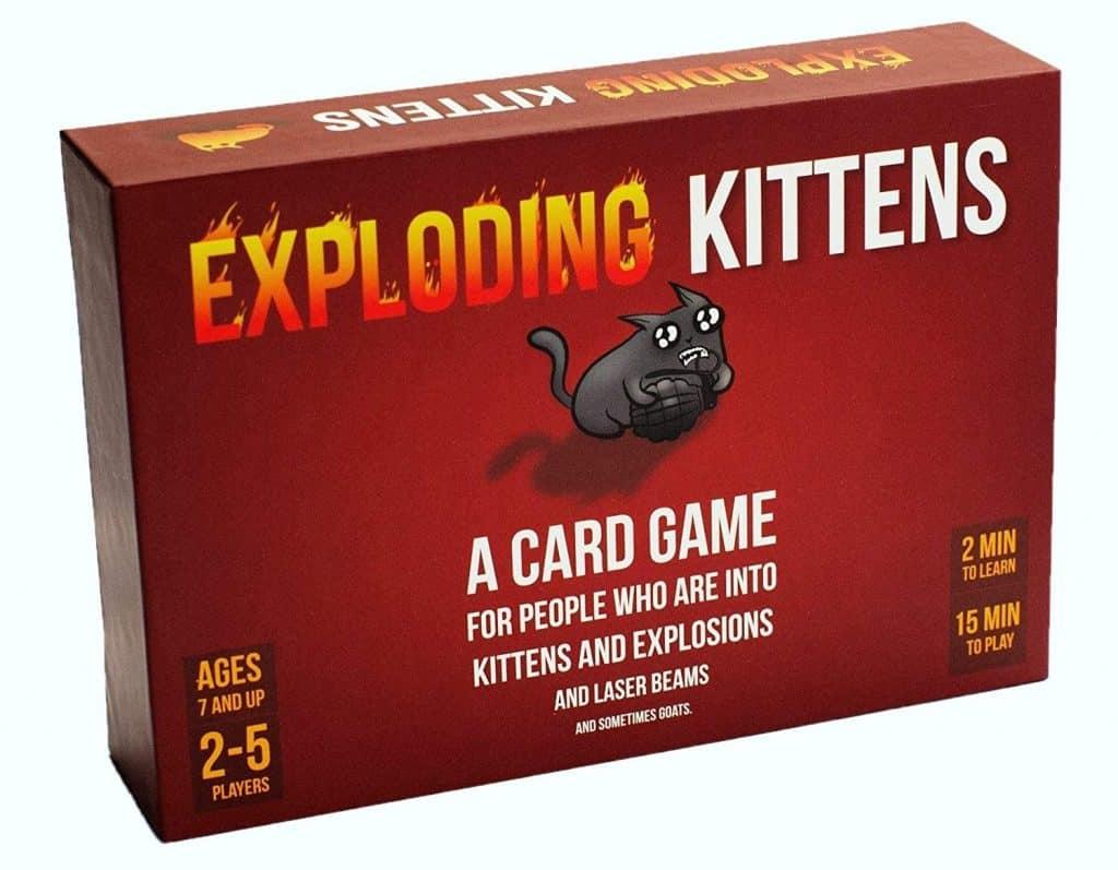 stocking stuffer ideas: exploding kittens card game