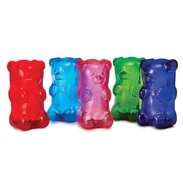 stocking stuffer ideas for girls: squishy gummy bear light
