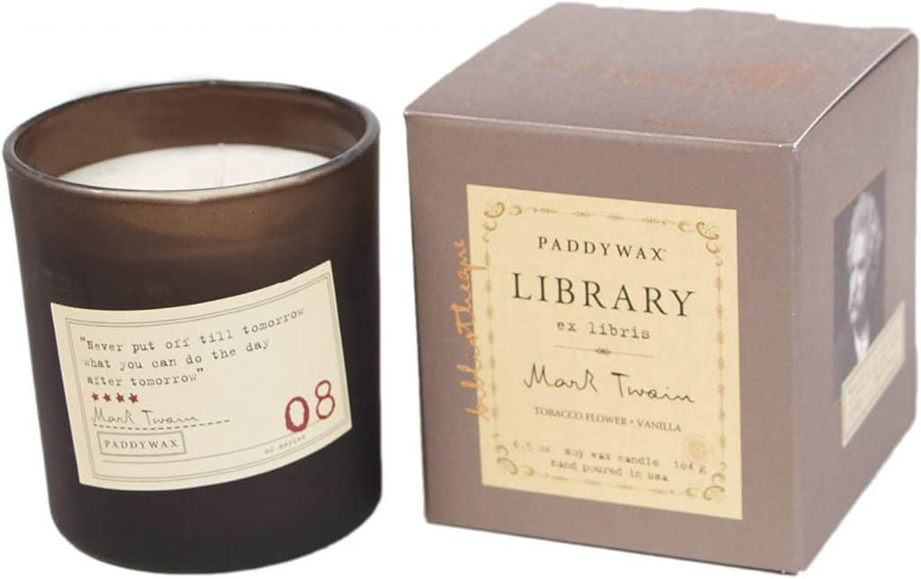 christmas gifts for mom from son: Paddywax Candles Library Collection