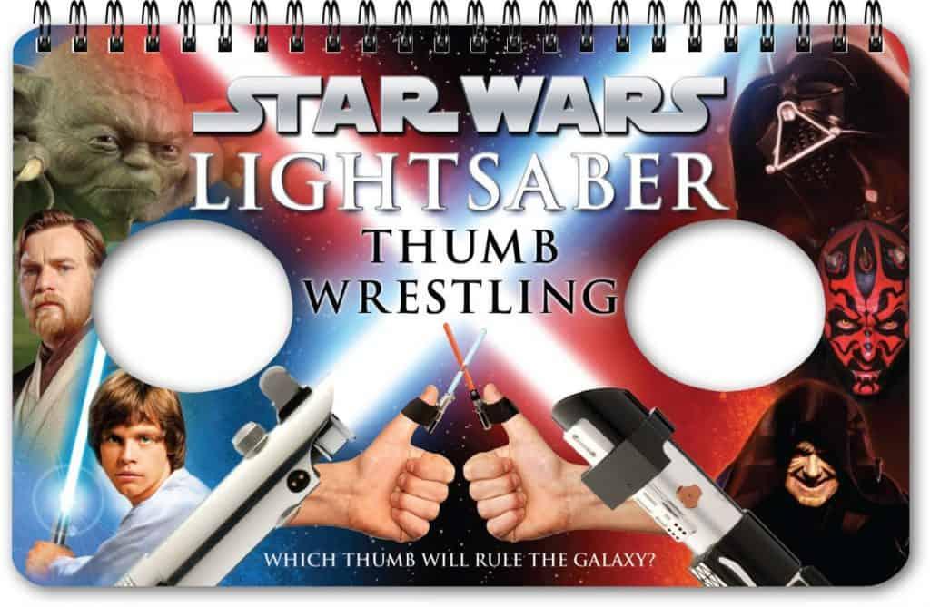 boy stocking stuffer: Star Wars Lightsaber Thumb Wrestling