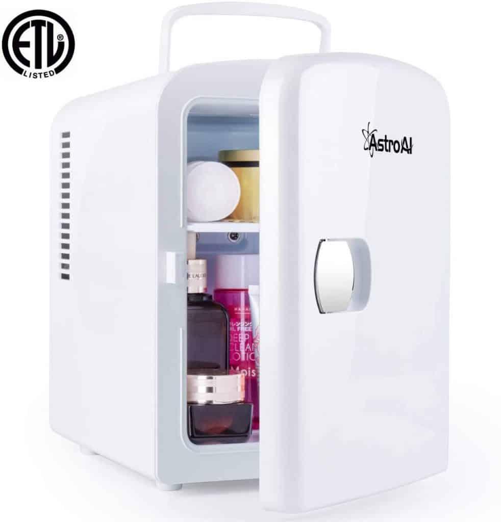 great gift ideas for mom: mini fridge