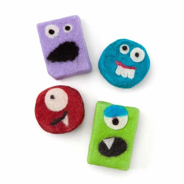 stocking stuffer ideas for boys: monster soaps