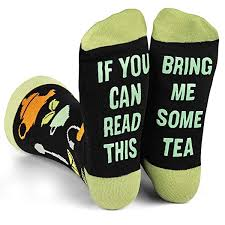 """good gift ideas for mom: """"If You Can Read This Bring Me"""" Socks"""