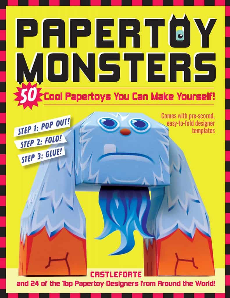 stocking stuffers for kids: papertoy monsters