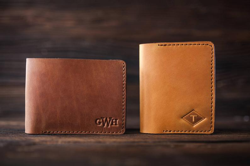 christmas gift ideas for men: Personalized Wallet