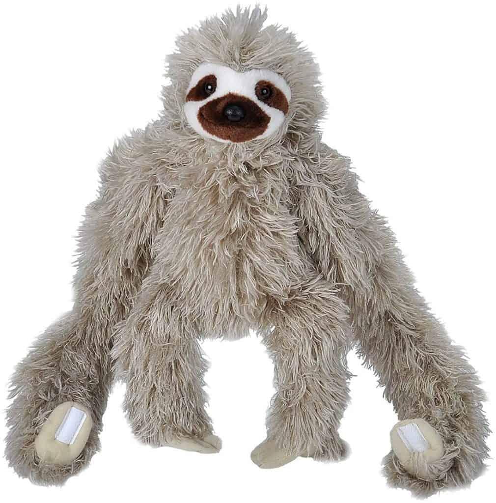 stocking stuffer ideas for kids: Hanging Three Toed Sloth Plush