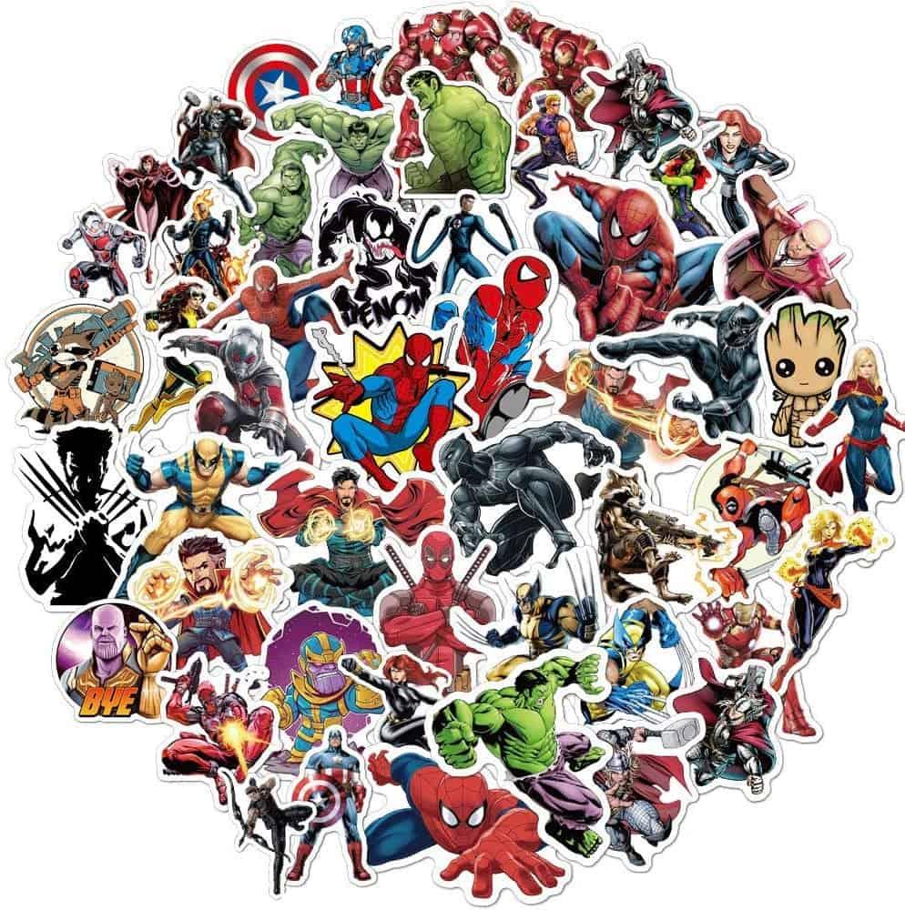 kids stocking stuffer: Superhero Stickers