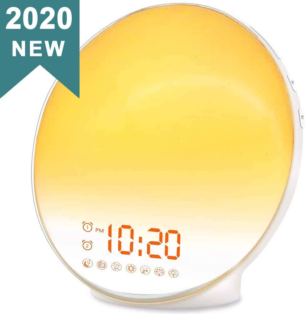wake up light alarm clock - gadget gift for women