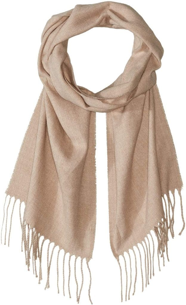 stocking stuffers for tween girl: woven wrap scarf