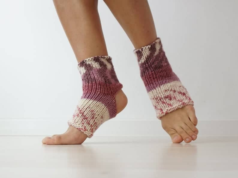 yoga gifts for her: yoga grip socks