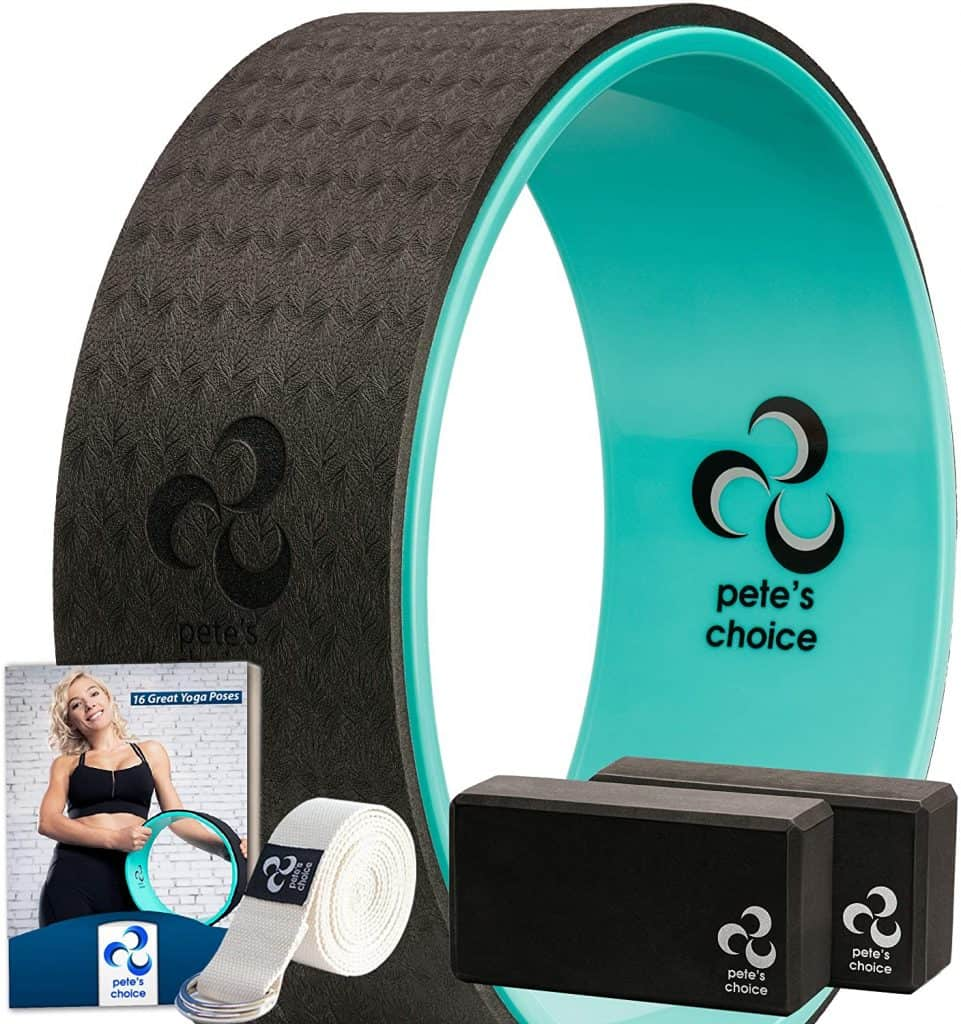 yoga gifts ideas: yoga wheel