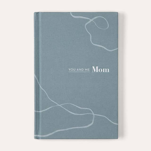 christmas gifts for mom from daughter: you & me mom journal