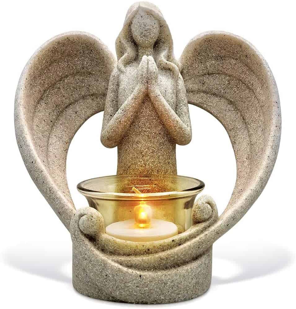 Angel Figurines Candle Holder