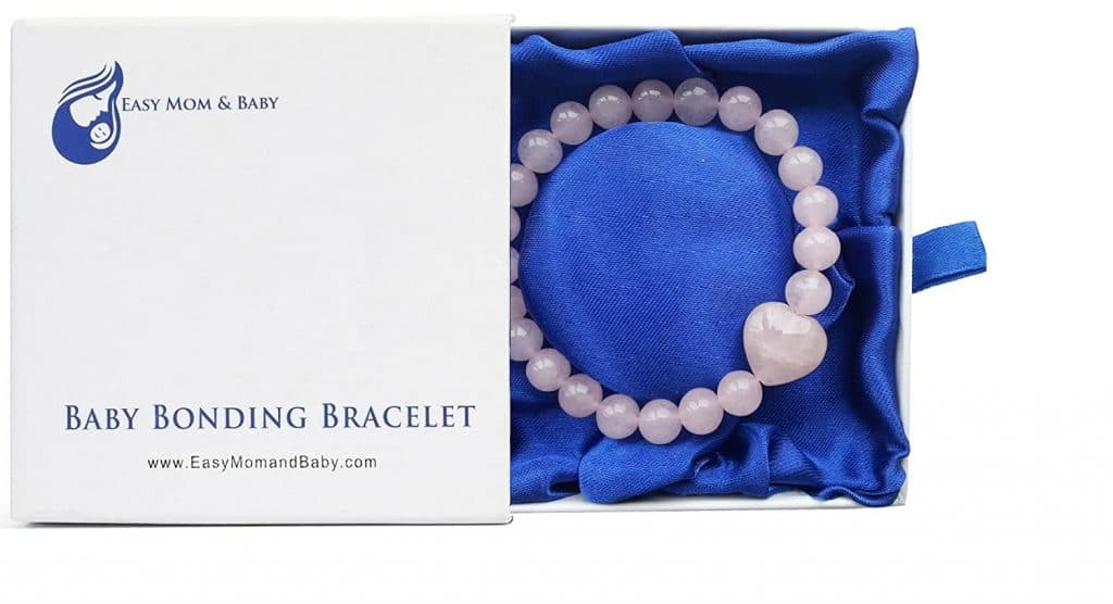 mother's day gifts for new moms: Baby Bonding Bracelet
