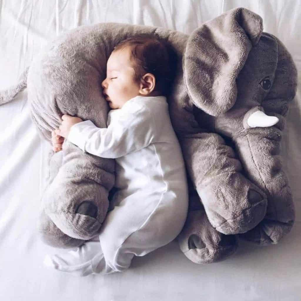 best baby gifts for new moms: Baby Elephant Pillow