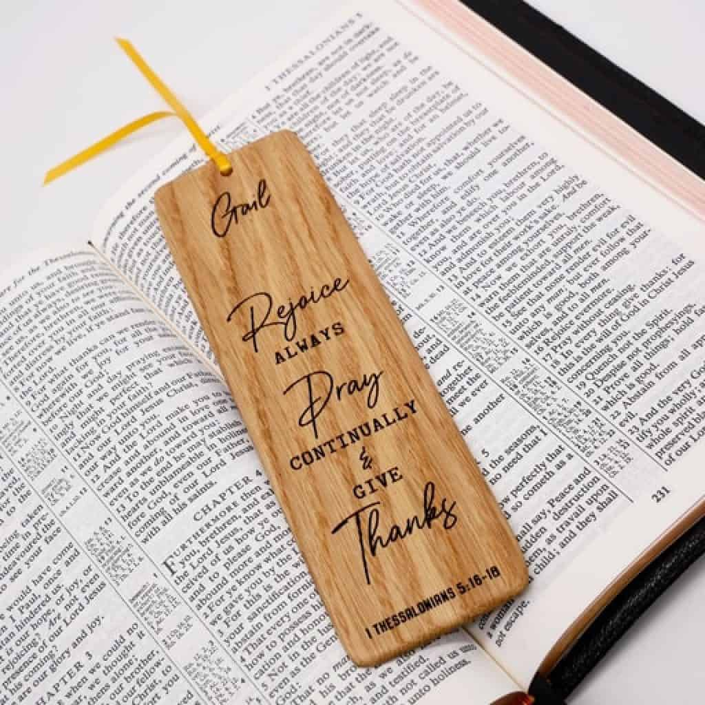 Bookmark - Christian Gifts for Men