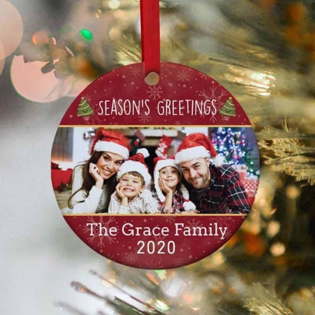 Christmas Ornament - Christmas gifts for dad