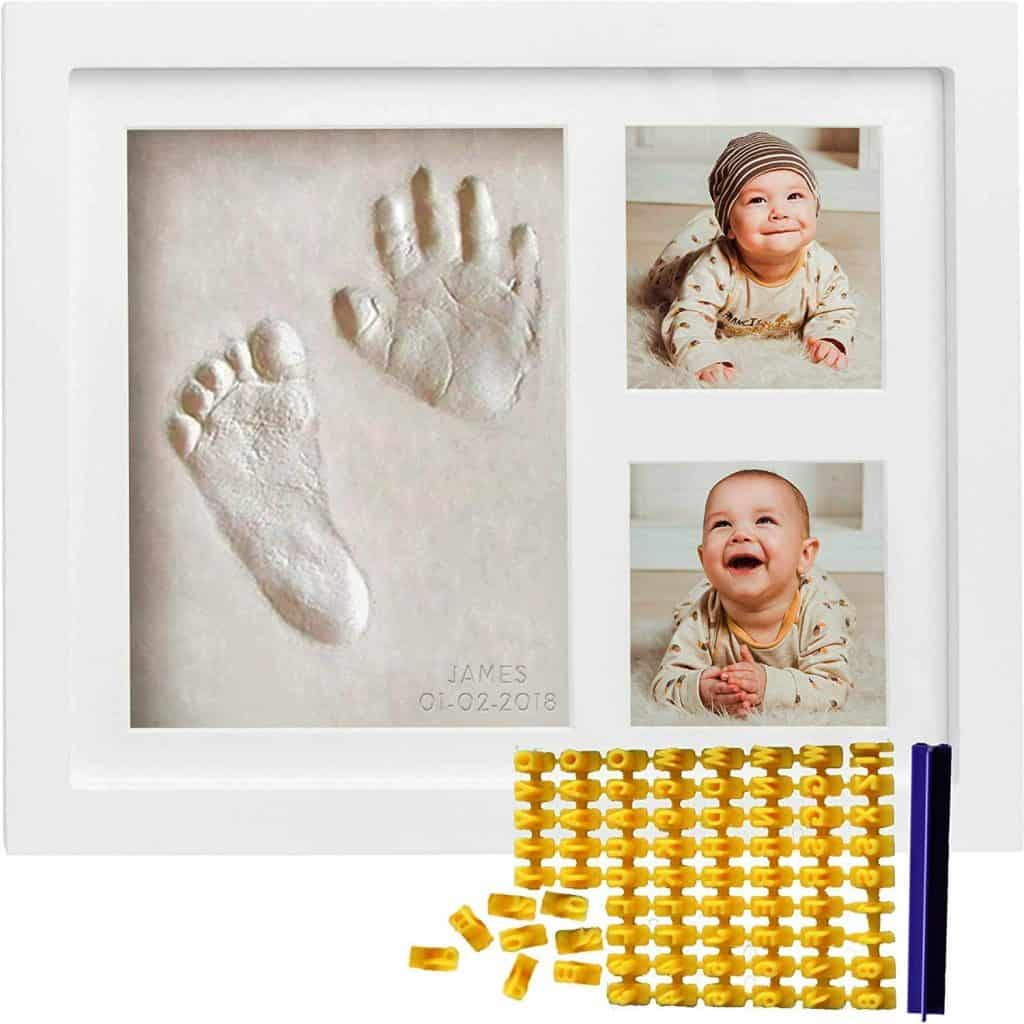 mother's day gifts for new moms: Co Little Baby Handprint & Footprint Kit